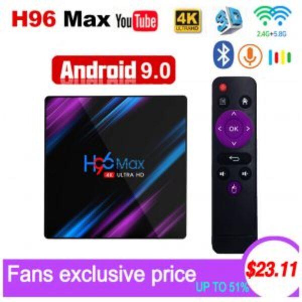 סטרימר H96 Max Android 9.0