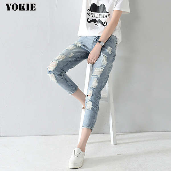 ג'ינס סקיני גזרת- MOM