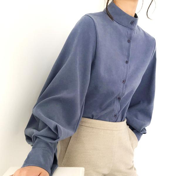 חולצה אלגנטית ארוכה
