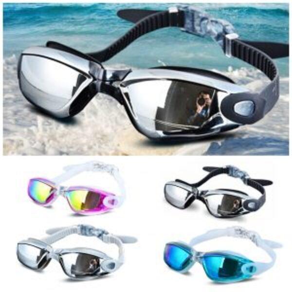 משקפי שחייה וצלילה עם מנגנון כוונון מתוחכם