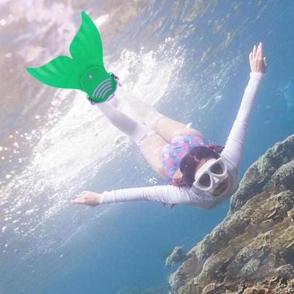 סנפיר לרגליים לשחיית ילדים- בת הים