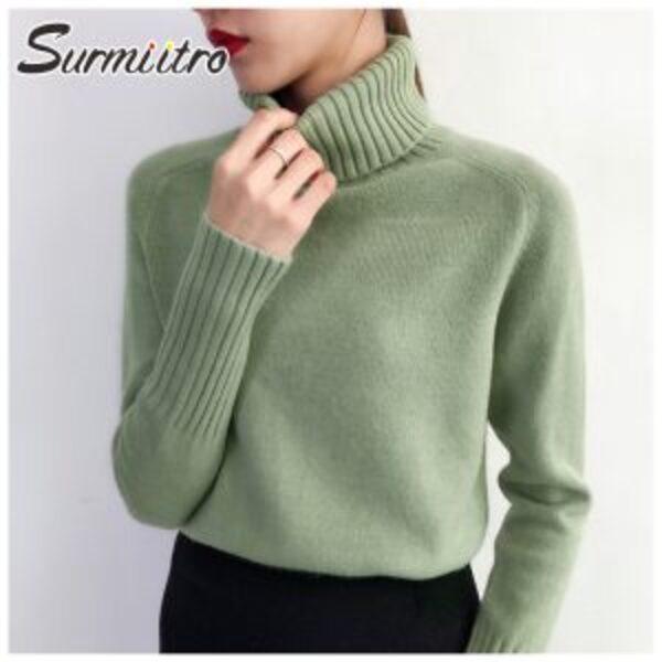 סוודר גולף לנשים Surmiitro