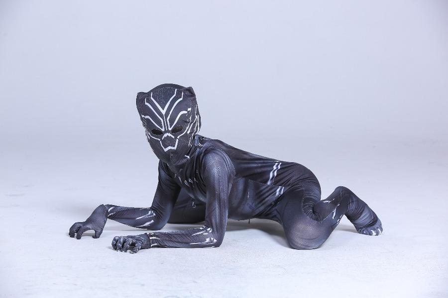 תחפושת הפנתר השחור לילד/ לגבר