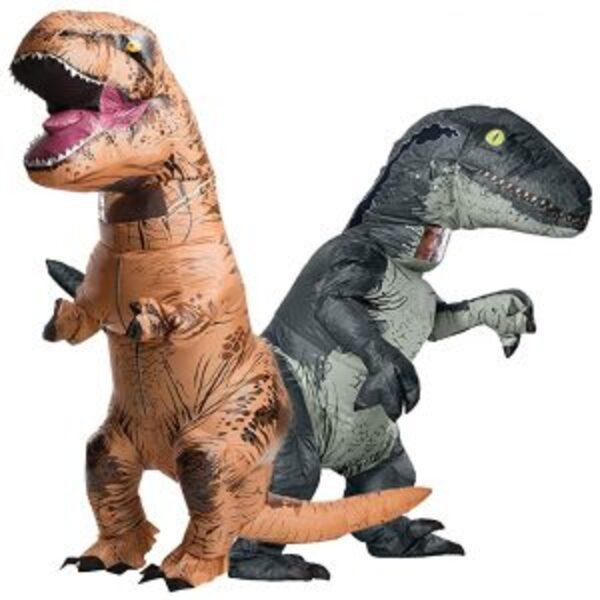 תחפושת דינוזאור טי רקס למבוגרים