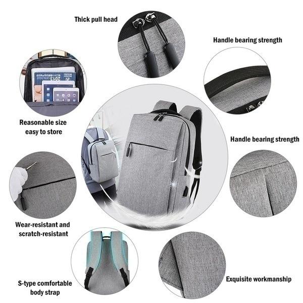 תיק גב USB רב שימושי