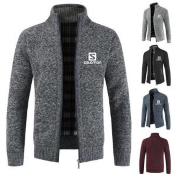 מעיל סוודר חורפי סלומון