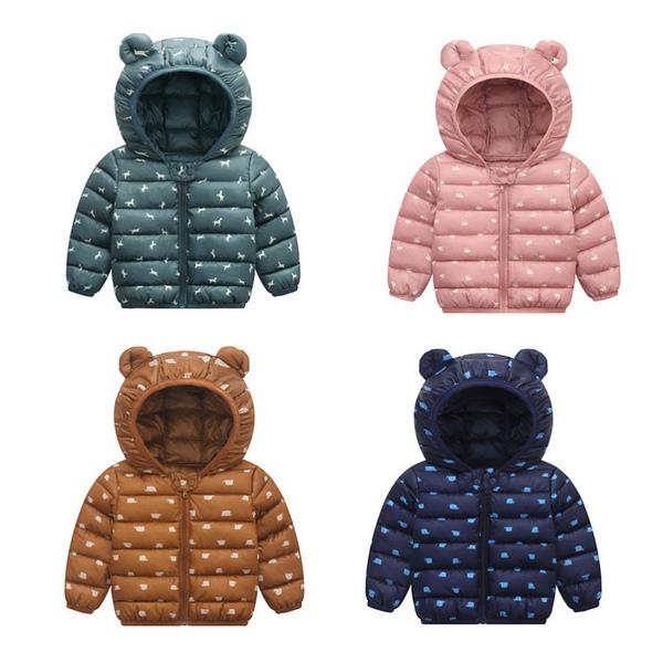 מעילים במגוון צבעים לתינוקות