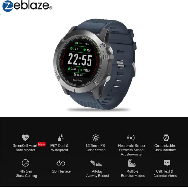 שעון כושר חכם Zeblaze VIBE 3 HR