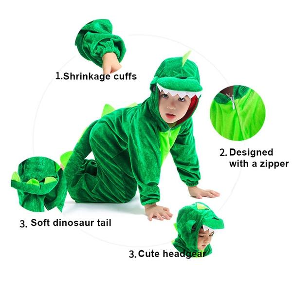 תחפושת דינוזאור לפעוטות ולילדים