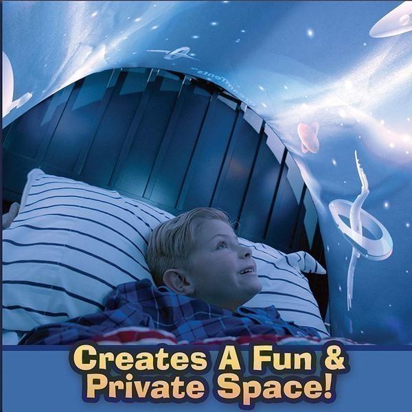 אוהל החלומות למיטת הילדים