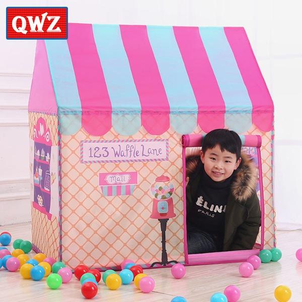 אוהל ילדים מעוצב