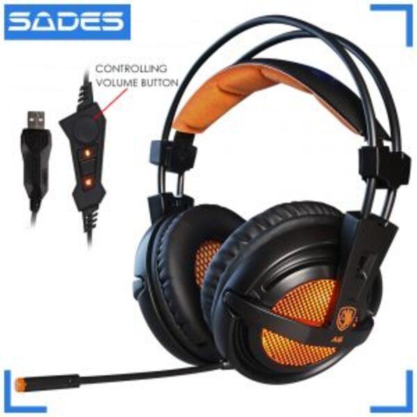 אוזניות גיימינג SADES A6