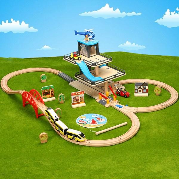 מסלול רכבת/ מכוניות תואם ל BRIO