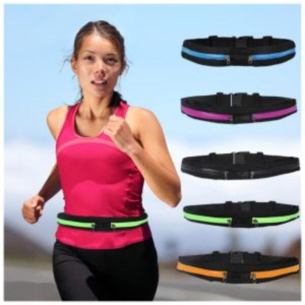 חגורת כיסים לריצה/ הליכה ולספורט