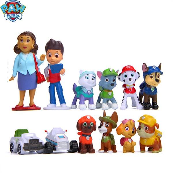 סט 12 דמויות יחידת החילוץ