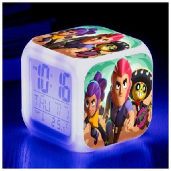 שעון דיגיטלי שולחני BRAWL STARS