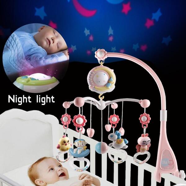 מובייל לתינוק עם שלט רחוק
