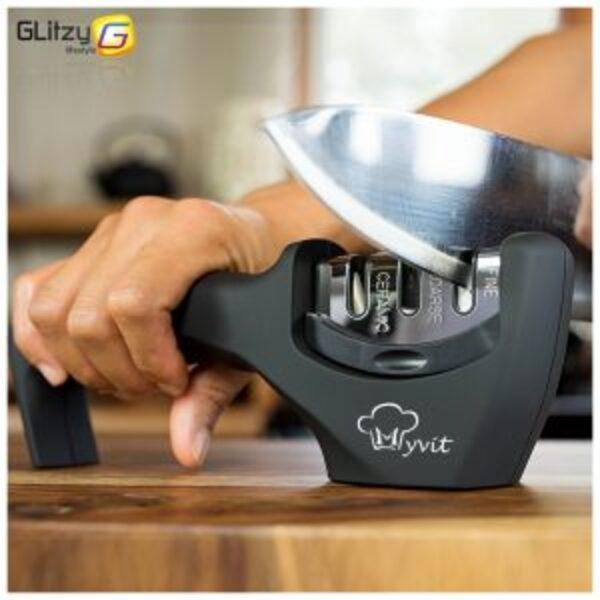 משחיז סכינים ומספריים