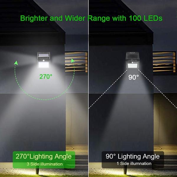 תאורה סולארית Goodland 100 LED