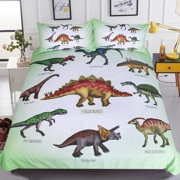 סט מצעים דינוזאורים