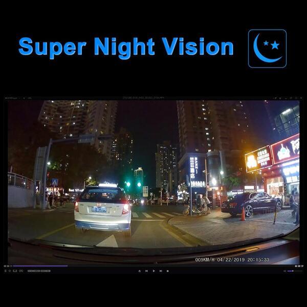 מצלמת רכב באיכות 4K