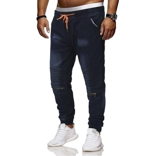 מכנסי ג'ינס שרוך לגבר