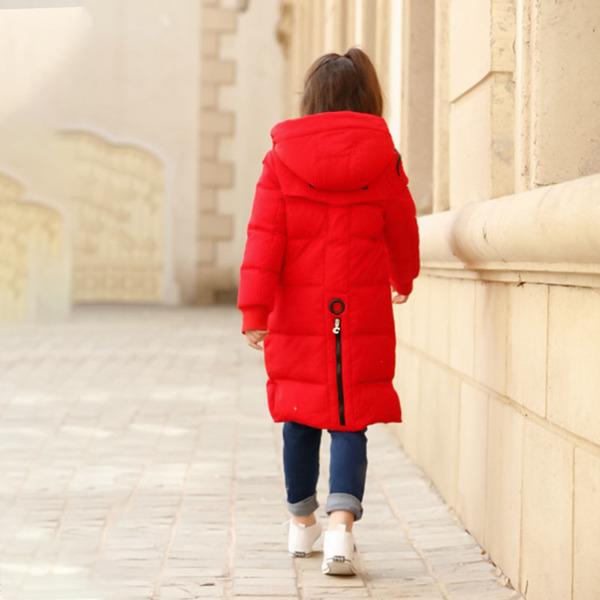 מעיל פוף מידי לילדות