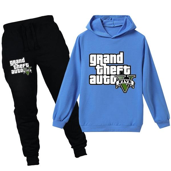 חליפת טרנינג GTA לילדים ולנוער