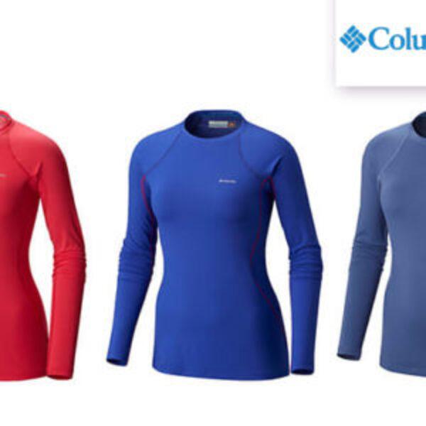 חולצה תרמית ארוכה לנשים, Columbia