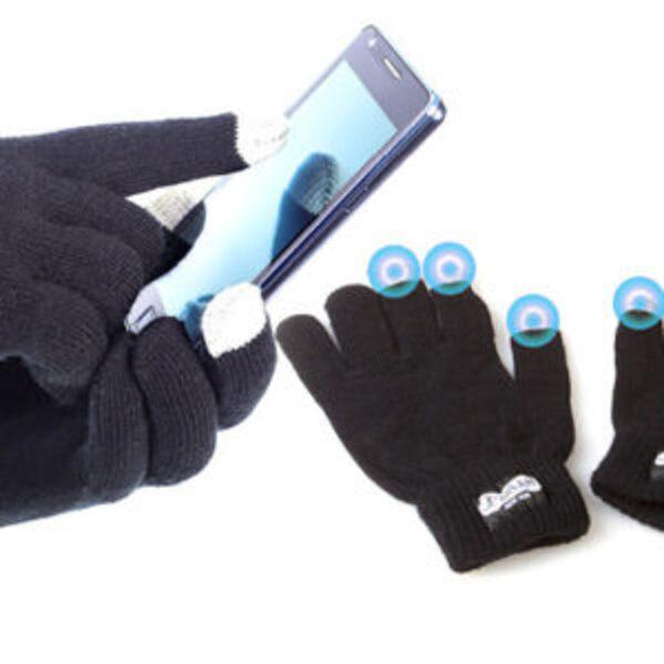 כפפות מחממות עם רגישות למסכי מגע