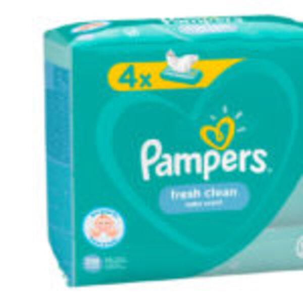 מארז 20 חבילות מגבונים לחים פמפרס PAMPERS