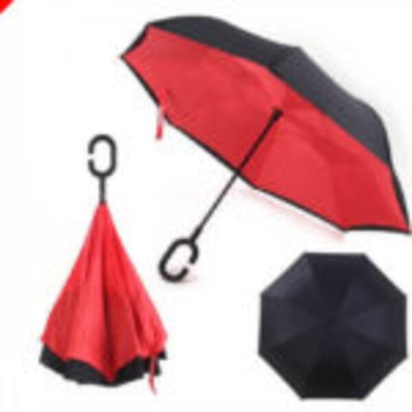 זוג מטריות מתהפכות שלא מטפטפות