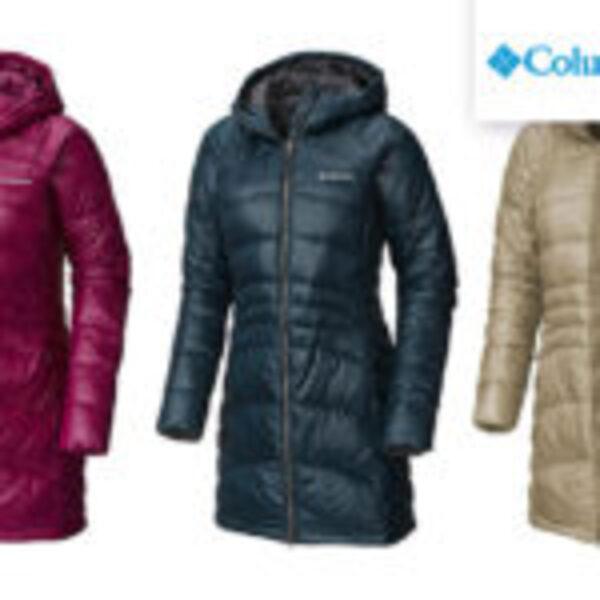 מעיל פוך ארוך לנשים Columbia