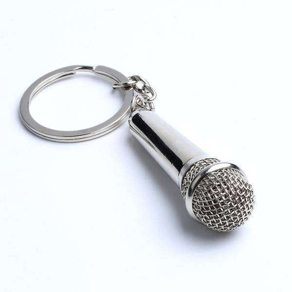 מחזיק מפתחות מיקרופון