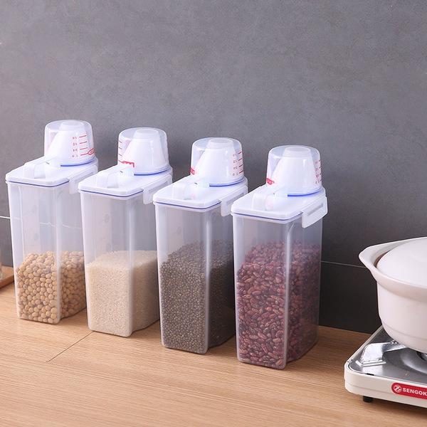 תיבת איחסון מזון יבש למטבח