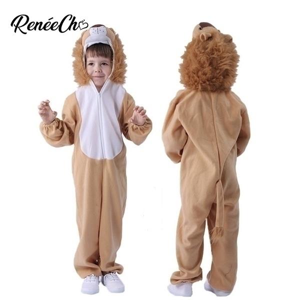 תחפושת אריה לילדים 3-14 שנים