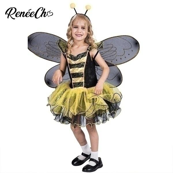 תחפושת דבורה לילדות 4-12