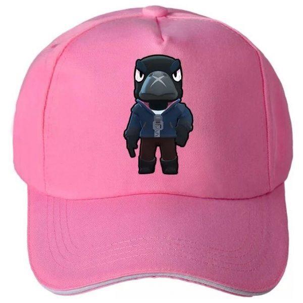 כובע CROW לבנות בראול סטרס