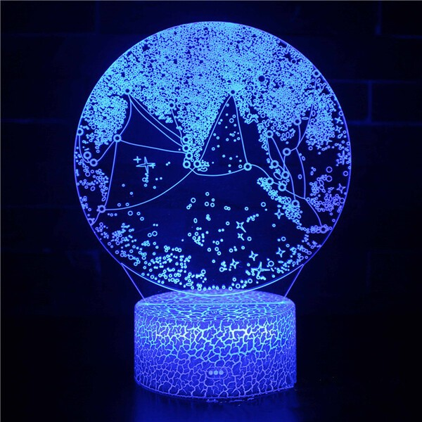 מנורת לילה דקורטיבית