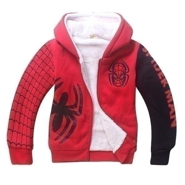 ג'קט ספיידרמן אדום/שחור