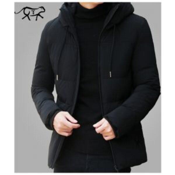 מעיל פוך מעוצב לגברים