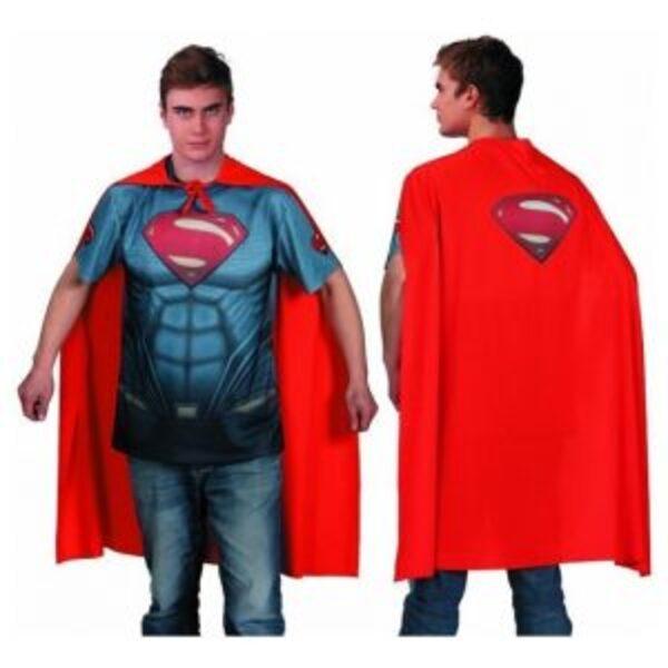 חולצת גלימה – סופרמן לגבר