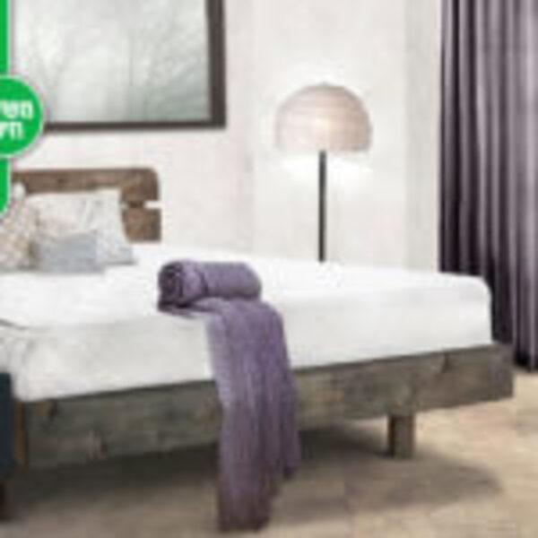 מיטה זוגית מעץ מלא – מזרן מתנה והובלה והרכבה חינם