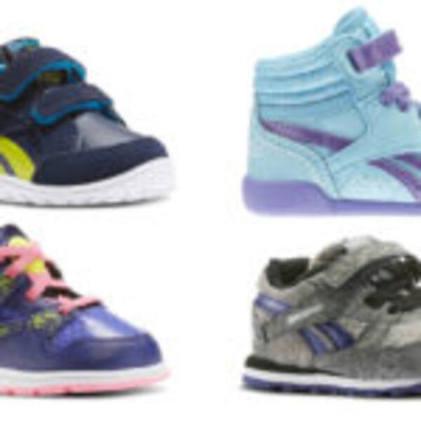 נעלי תינוקות Adidas ו-Reebok