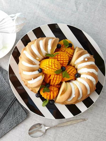 תבנית עוגה בצורת ספירלה לאפיה בתנור