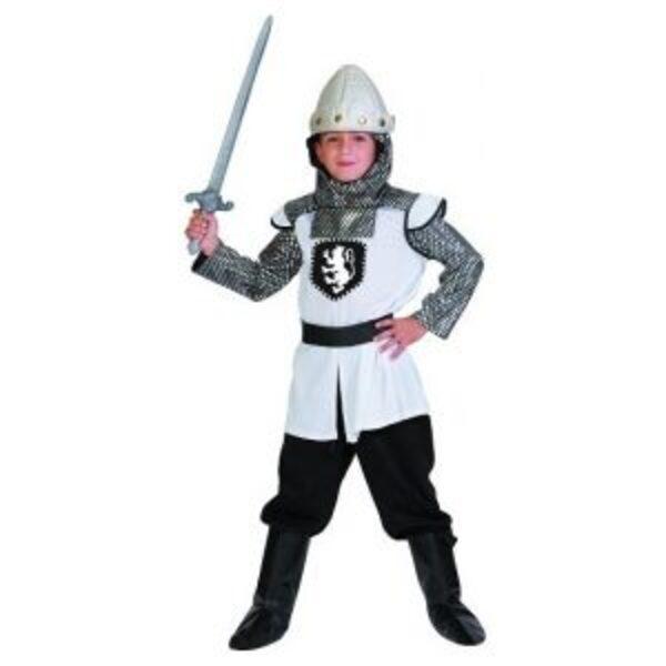תחפושת אביר לבן במידות 6-10