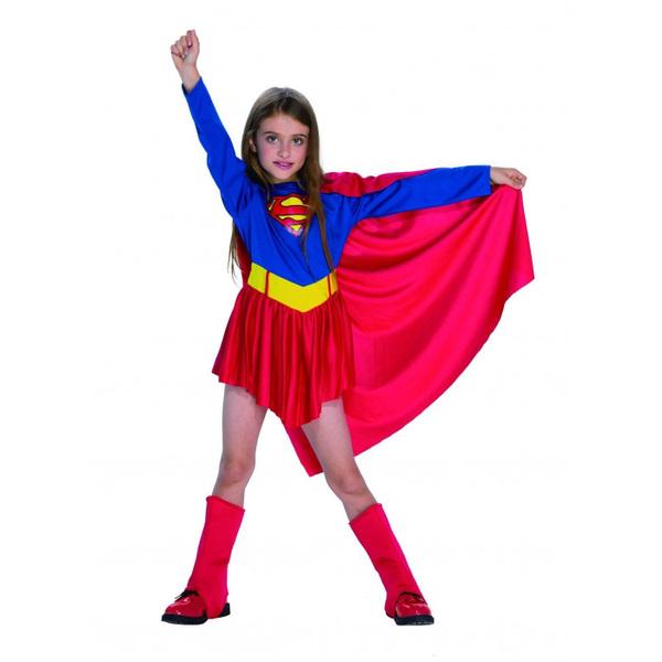 תחפושת SuperGirl לילדות 6-12
