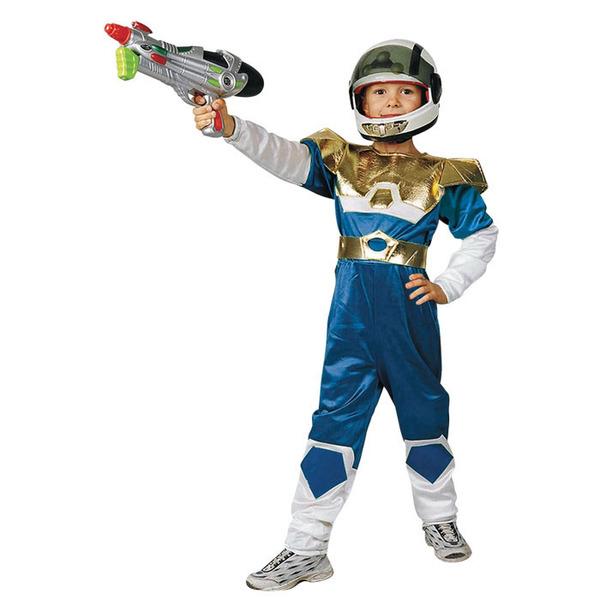 תחפושת לוחם חלל ירוק 3-10