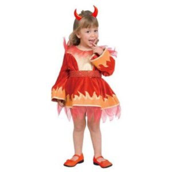 תחפושת נסיכת האש לבנות 1-6