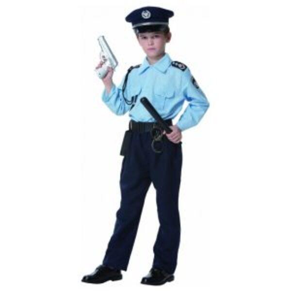 """תחפושת מפכ""""ל משטרה במידות 4-10"""